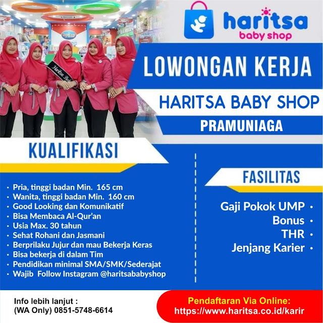 Lowongan Kerja Medan Januari 2021 Lulusan Sma Smk Sederajat Harista Baby Shop