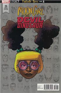Portada de Moon Girl y Dinosaurio Diabólico