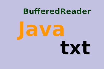 Java BufferedReader TXT