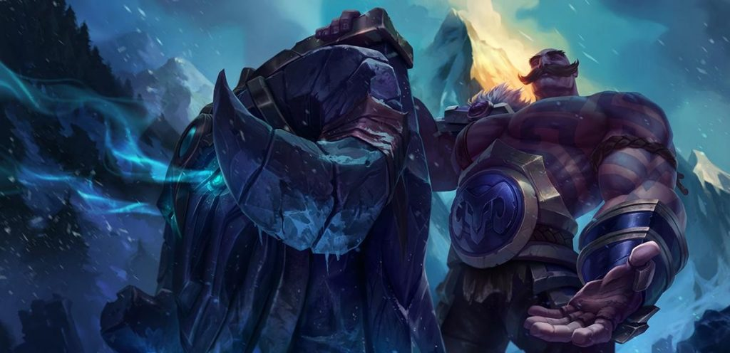 Braum is currently the strongest support, closely followed by Blitzcrank.