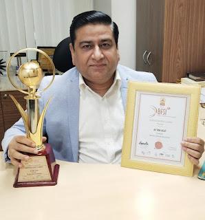 Shriram General Insurance President, Mr. Aftab Alvi Conferred with 'Bancassurance Leader of The Year' at the World BFSI Congress Awards
