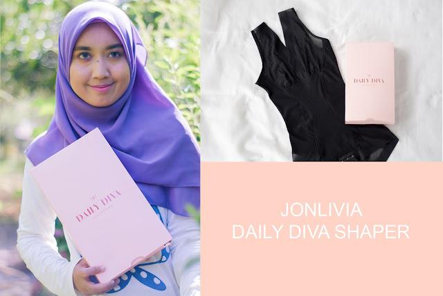 Jonlivia Daily Diva Shaper Dengan  Pemanasan Kristal Tourmaline