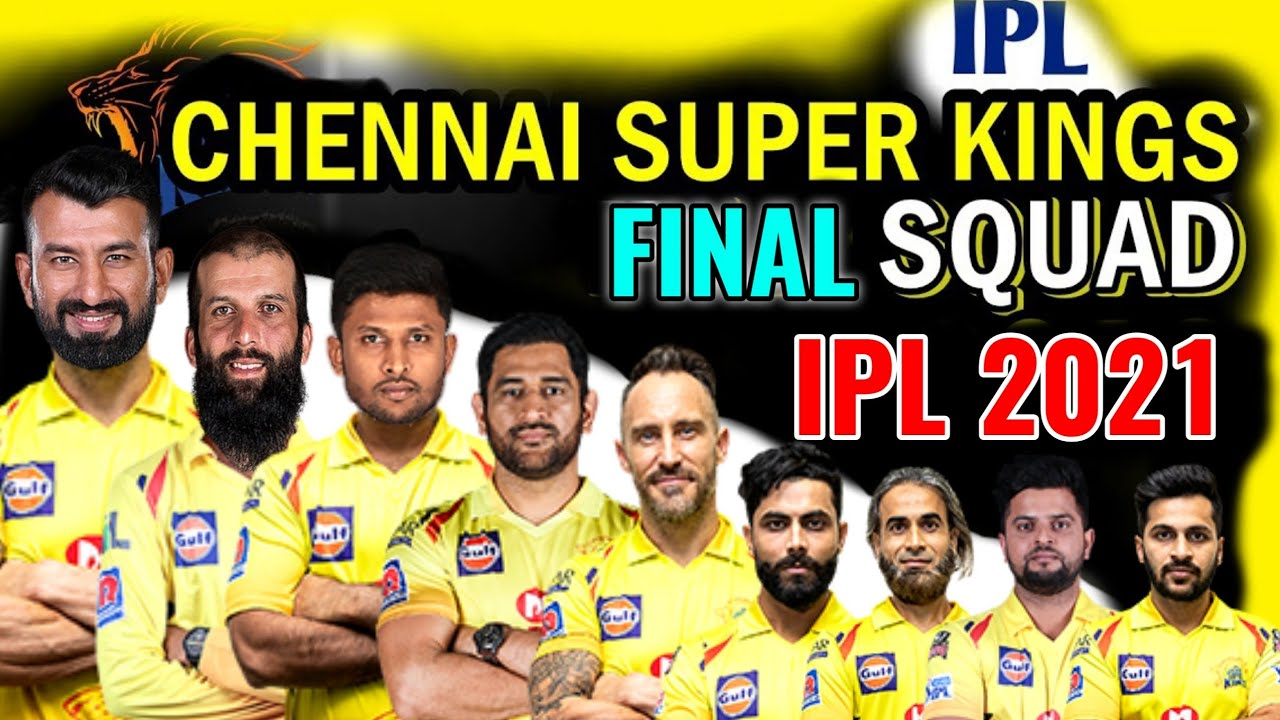 Chennai Super Kings in VIVO IPL T-2021