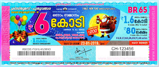Prize Structure of Kerala Lottery Pournami ~ LIVE:: Kerala