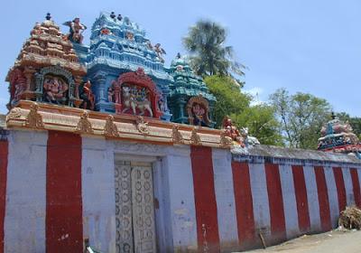 Tirunokkia Azhagianathar Temple Tirupachethi Sivaganga