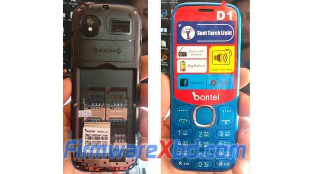 Bontel D1 Flash File 6531E Download 100% Tested