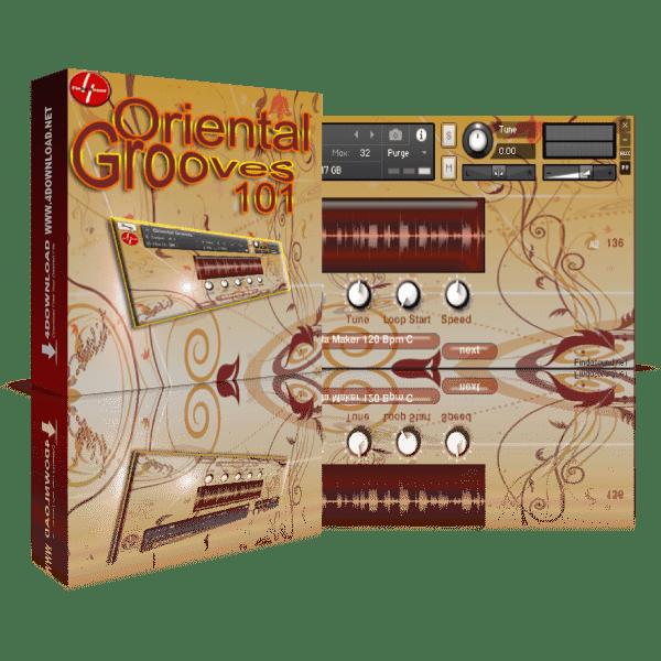 Oriental Grooves 101 KONTAKT Library