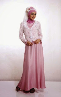 Model Baju Muslim Brokat Baru