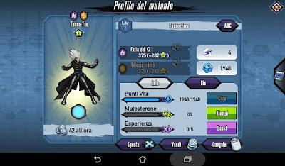 Mutants: Genetic Gladiators Breeding video N°187 (Blood Berry - Android)
