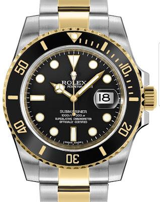 Pajak Rolex (Rolex-Submariner-Date-116613LN)-RM38,000