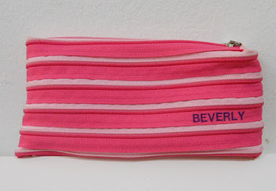 Pink Pencil Case with name