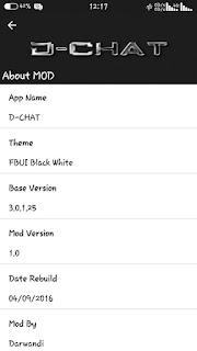 Download BBM Mod D-CHAT Terbaru 2016 | Regeneration BBM FBUI