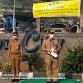 FKDM Kecamatan Tambora Gelar Apel Gabungan Monitoring Dan Kewaspadaan Bulan Ramadhan 2021.