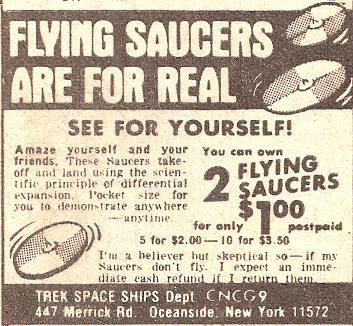 Flying Saucers Are For Real