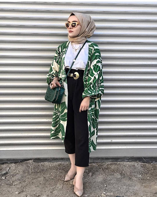 2019 Beautiful Casual Hijab Outfits