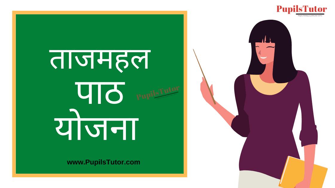 Taj Mahal Lesson Plan in Hindi for B.Ed/DELED | ताजमहल पाठ योजना | Taj Mahal Lesson Plan