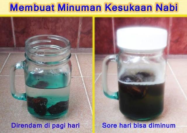Inilah Air Nabeez, Minuman Sari Buah Kesukaan Nabi SAW...Begini Cara Membuatnya...