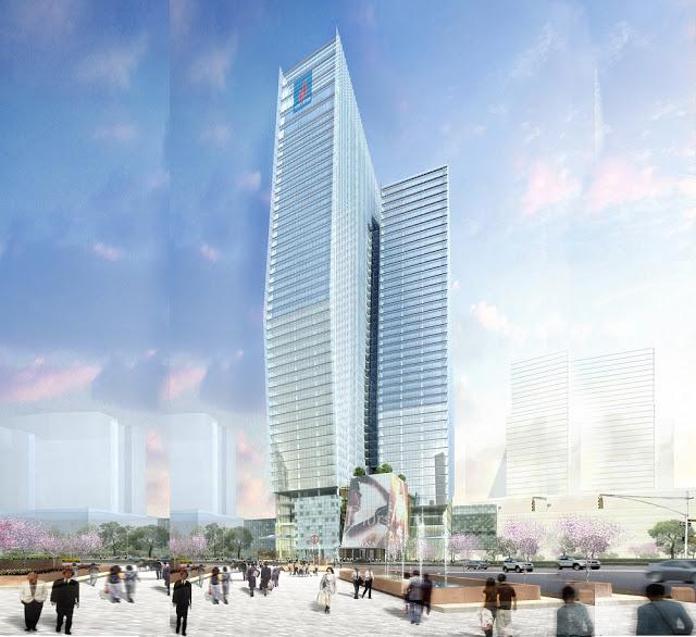 Phối cảnh chung cư  Nam Đàn Plaza