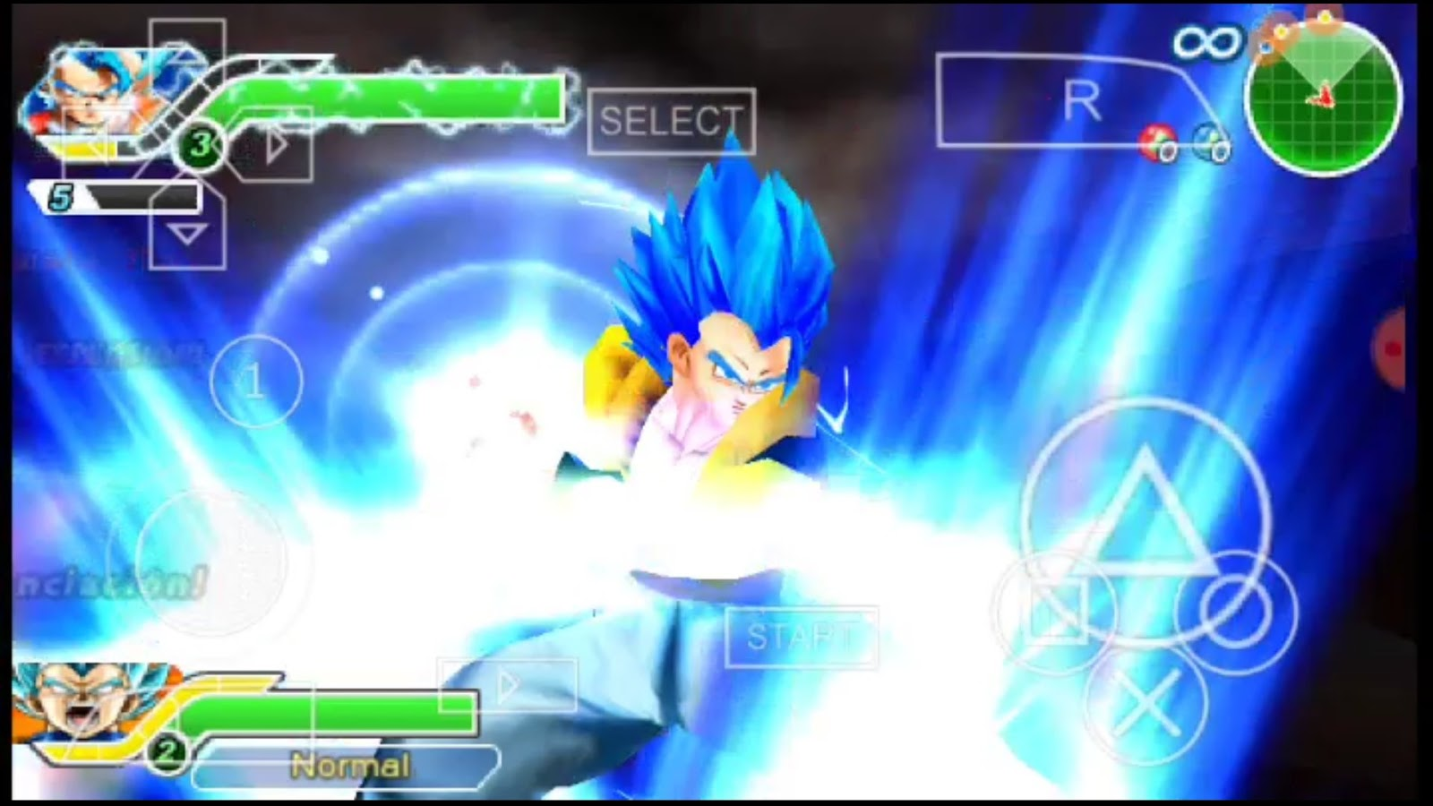 Dragon Ball Z Tenkaichi Tag team Mod PSP ISO Download