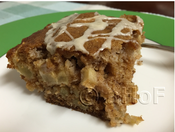 Fresh Apple Cake, made with fresh apples instead of frozen