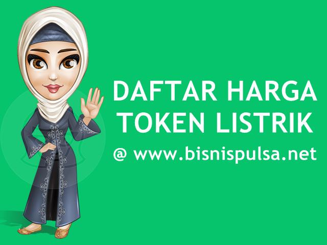 Daftar Harga Token Listrik PLN Prabayar Murah BisnisPulsa.net