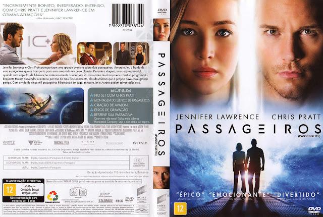 Capa DVD Passageiros (Oficial)