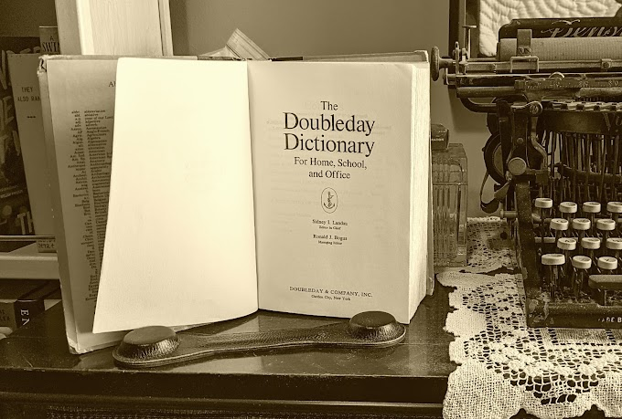 Monday Memories: Do People Even Buy Dictionaries Anymore?