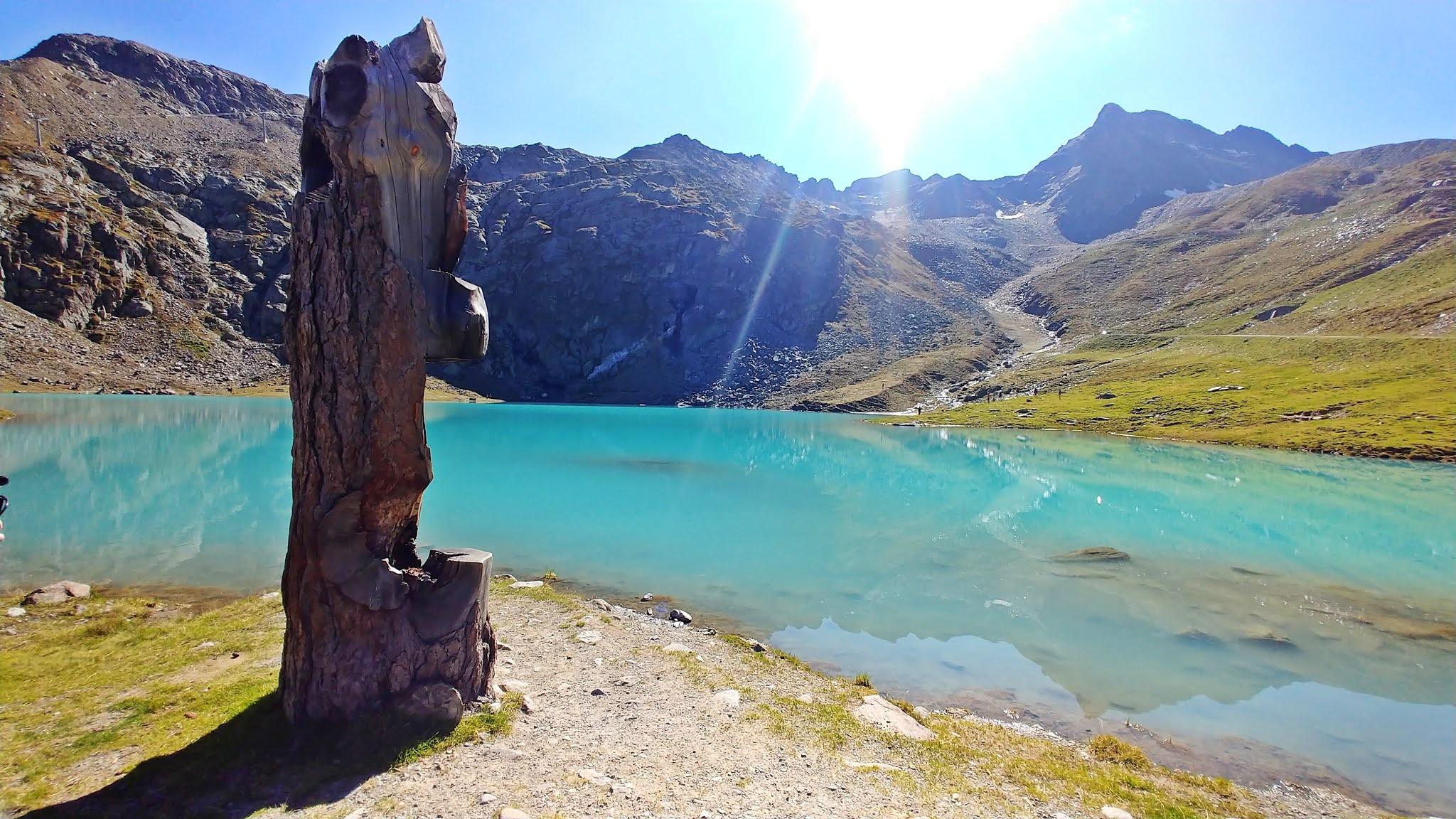 Jezioro Weibsee najpiękniejsza droga Austria