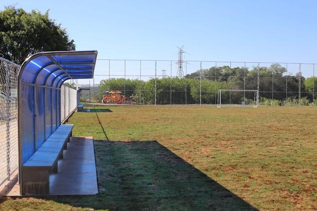Prefeitura de Foz constrói nova área de lazer no Jardim das Palmeiras II