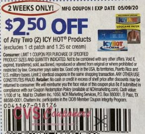 icy hot coupon