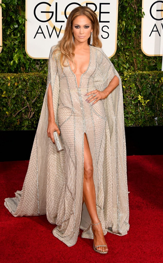 Jennifer Lopez best dressed at Golden Globe Awards 2015