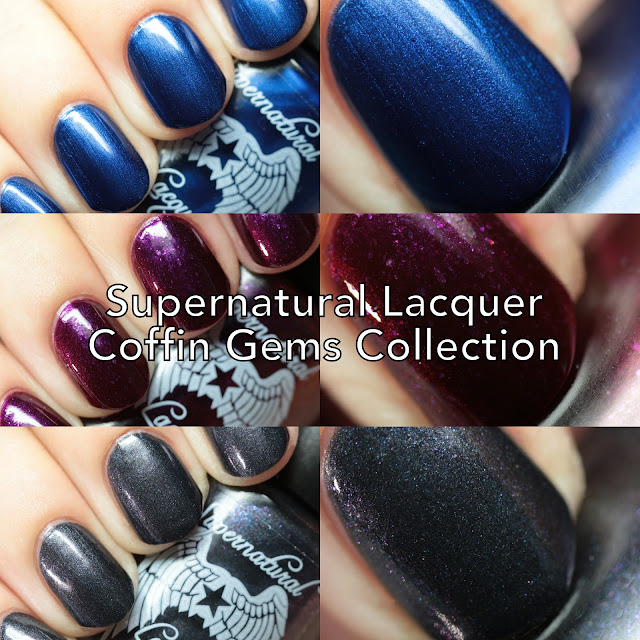 Supernatural Lacquer Coffin Gems Collection