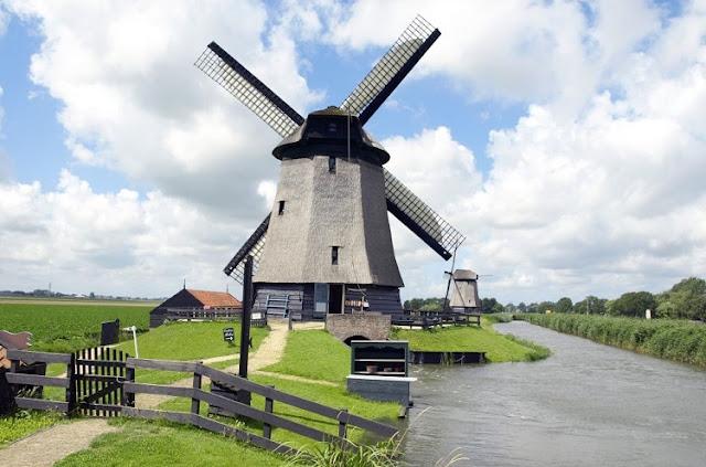 Viagem de carro pela Holanda