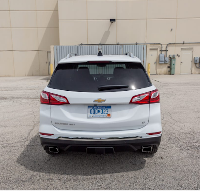 2018 Chevy Equinox Makes Packing a Breeze