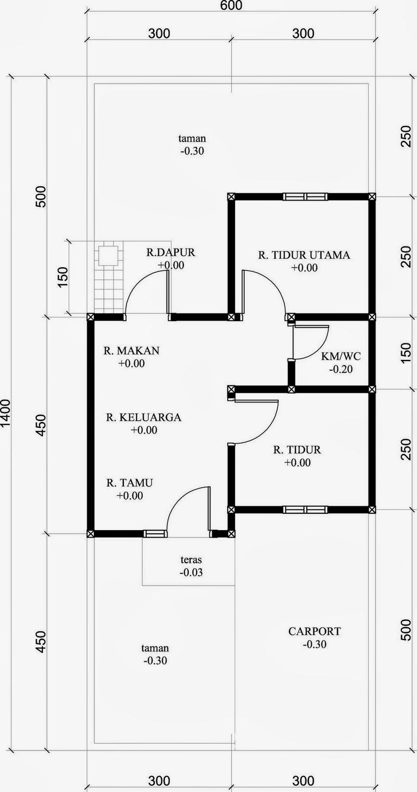Renovasi Rumah Type 36 Menjadi 2 Lantai