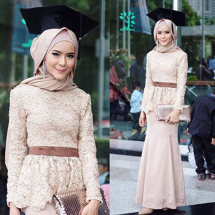 15 Inspirasi Fashion Mix And Match Kebaya Babydoll Untuk Wisuda