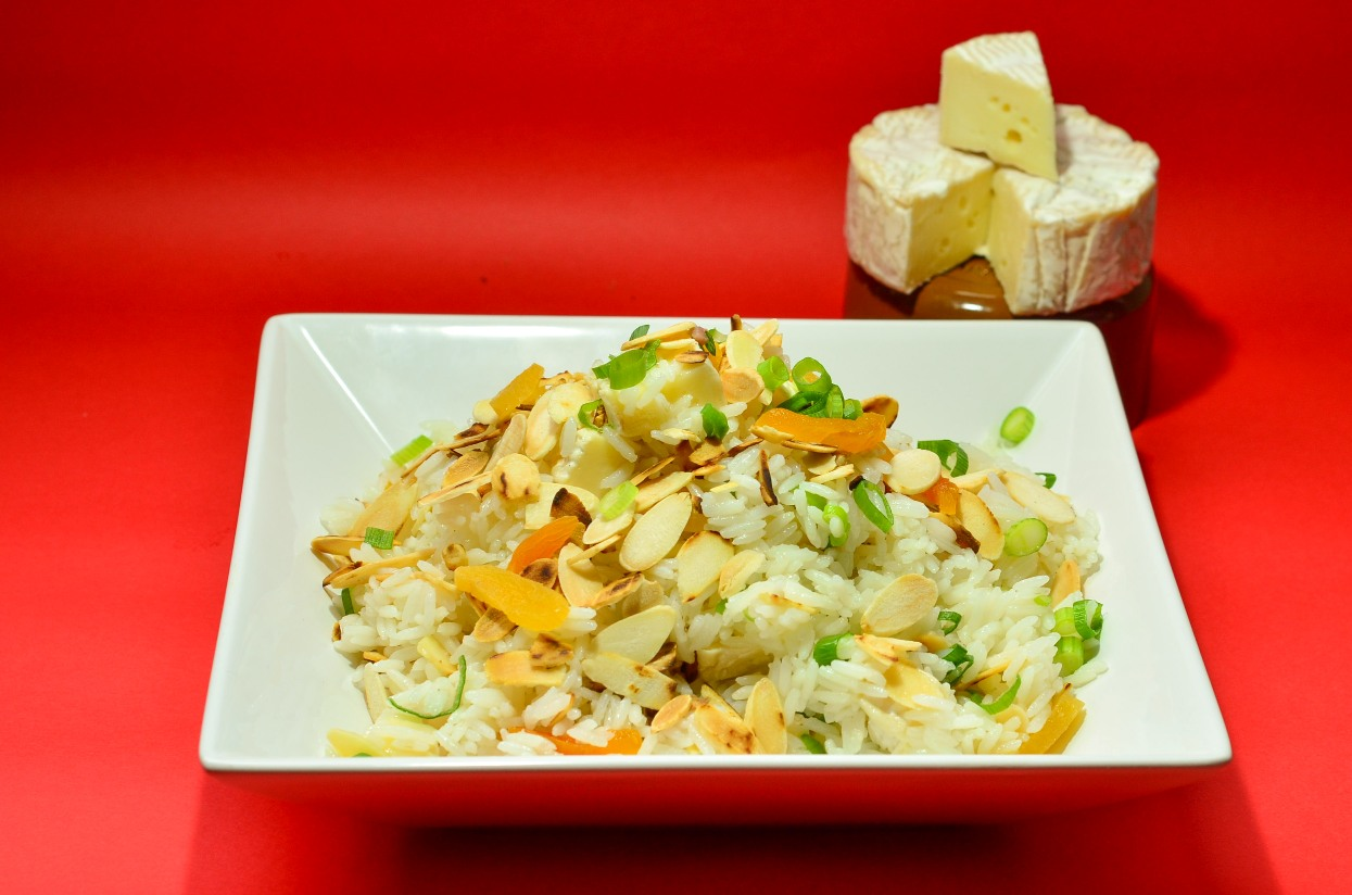 Para inovar no Natal, a Président te ensina a fazer um arroz natalino com um toque especial de Queijo Brie
