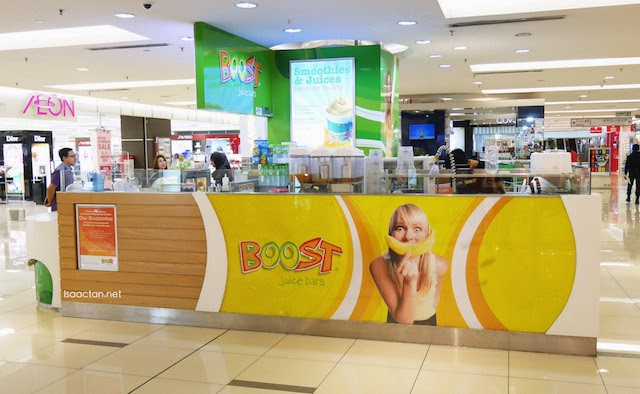 FREE BOOST Giveaway: Introducing Boost Juice's Caribbean Green