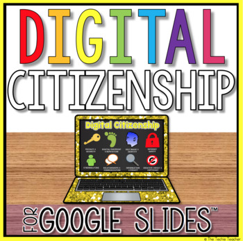 Digital Citizenship Project Template in Google Slides™