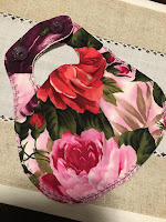 Gorgeous Boutique Girl Baby Bib by Cerena Levene