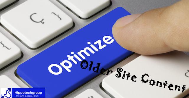 Optimize older Post Content