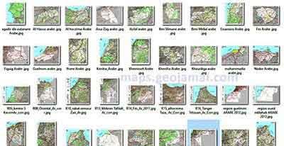Telecharger les cartes routieres topographiques geologiques sols maroc morocco