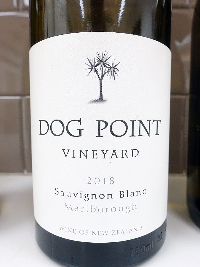 Dog Point Sauvignon Blanc 2018 (92 pts)