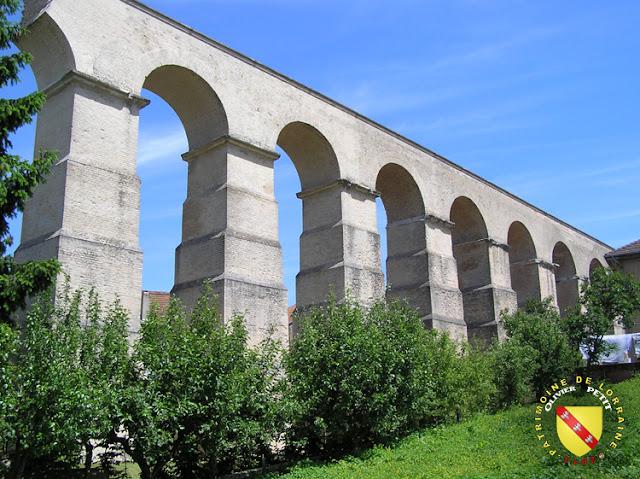L'aqueduc aérien à Jouy-aux-Arches