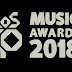 REVIVE LA CENA DE NOMINADOS DE LOS40 MUSIC AWARDS 2018