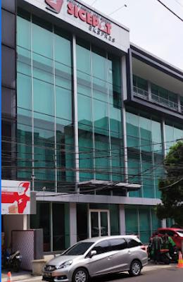 Alamat agen si Cepat Ekspres di Jakarta Pusat