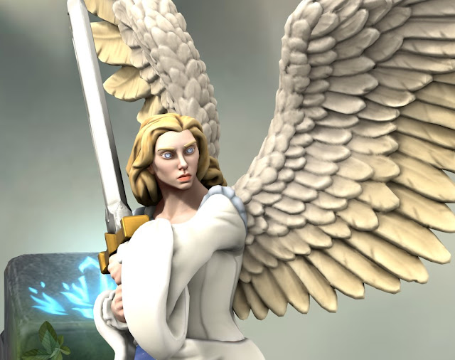 Lunar Angel (Hero Forge)