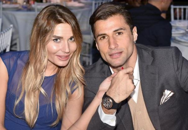 Lorik Cana and Monica