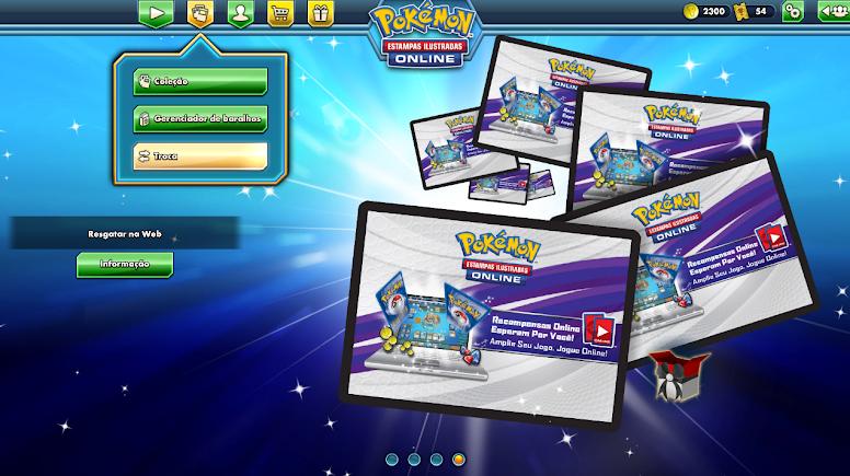 Pokémon TCG Online Trocas