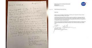 HEBOH... Surat Lamaran Kerja Siswa Kelas 4 SD Direspon NASA, Ternyata Begini Pekerjaannya